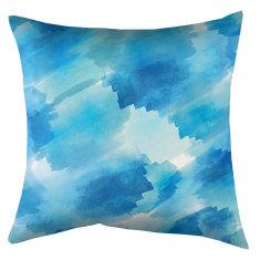 Indoor Cushion Splash Aqua