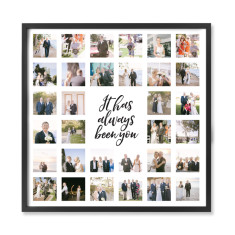 Personalised Photo with It has always been you Print