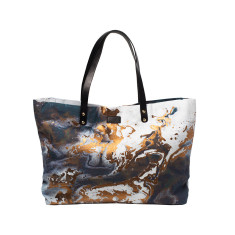 Copper Night Shopper Bag