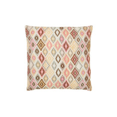 Kantha stitched geometric cushion cover (various colours)
