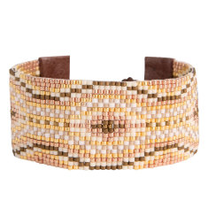 Chan Luu gold mix cuff