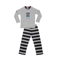 Grey H Crew Senior PJs