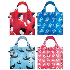 LOQI travel collection reusable bag (various designs)