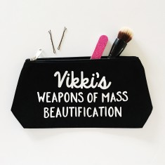 Personalised beatification makeup bag