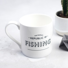 The People's Republic of Fishing Bone China Mug