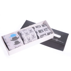 Signature hankie gift box for men