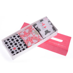 Signature hankie gift box for women
