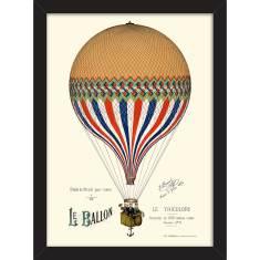 Ballooning in Paris Print