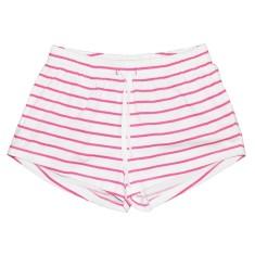 Pink zebra women's boxer shorts