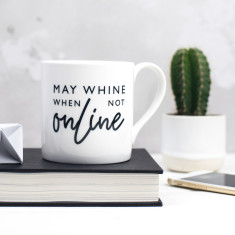 Wifi Addict Bone China Mug