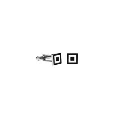 Square Geometric Cufflink