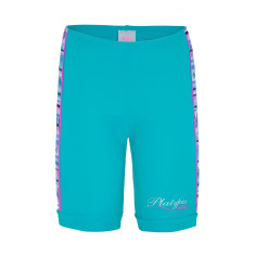 Girls' UPF 50+ aztec bike short