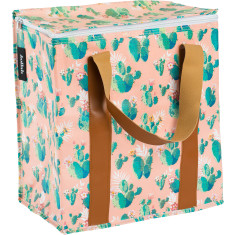 Insulated Cooler Bag in Cactus print