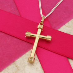 Yellow 9ct Gold Cross
