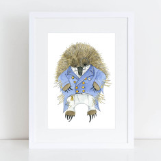 Edward Echidna VIII Limited Edition Fine Art Print