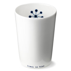 anne black large Black is Blue cup