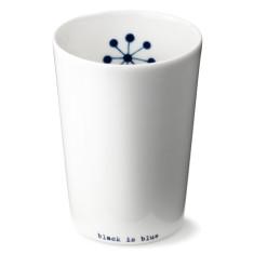 anne black large Black is Blue cup