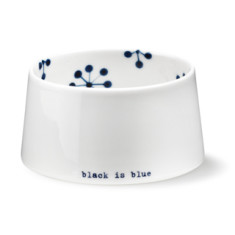 Black is blue sugar bowl by Anne Black