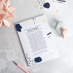 Sister Poem Notebook