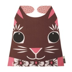 Organic cotton giant rabbit bib