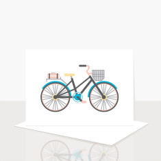 Bicycle Greeting Card (Pack of 8)