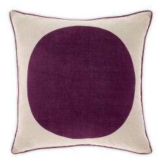 Big spot grape cushion