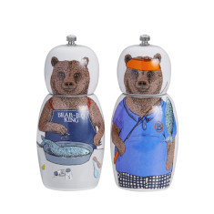 Big bear salt & pepper grinders