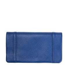 Some Type of Love leather wallet in blue