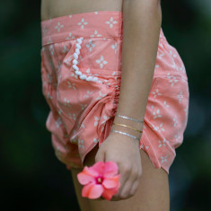 Billie shorts in peach