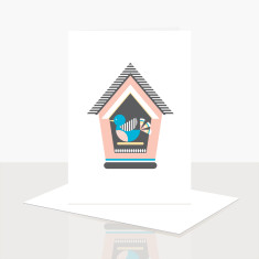 Bird House Greeting Card (Pack of 8)