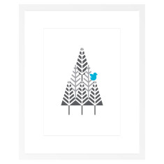 Bird in a Tree Art Print