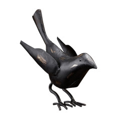 Rusty bird accessory