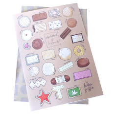 Biscuit alphabet notebook set