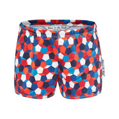Geometric swimmer trunks