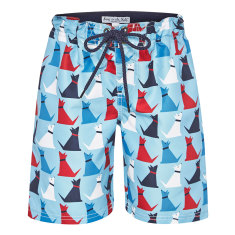 Boys' dog boardshorts