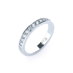 Cardinal Diamond Wedding Ring