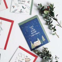 Christmas card set of 15