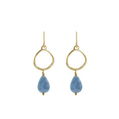 Blue dream earrings