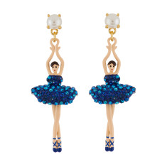 Ballerina Earrings - Aurora Blue