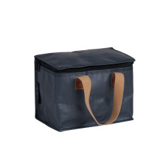 Insulated lunch box bag in Stealth Black