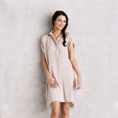 Ebla dress in Almond
