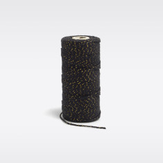 Black & gold bakers twine