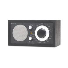 Model one BT bluetooth table radio in black black silver