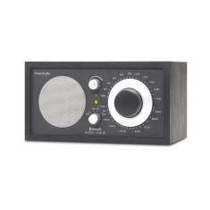 Model one BT bluetooth table radio in black black silver