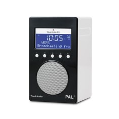 PAL+ BT portable digital radio in black