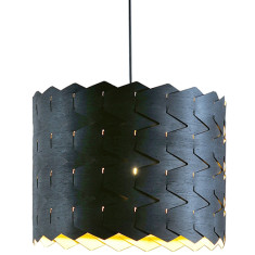 Reggie eco-black pendant light