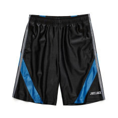 Boys Black and Blue Sports Shorts
