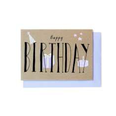 Happy birthday greeting cards (pack of 5)
