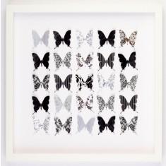 Butterflies classic black tie