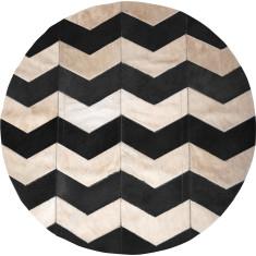 Grande loco black circulo rug